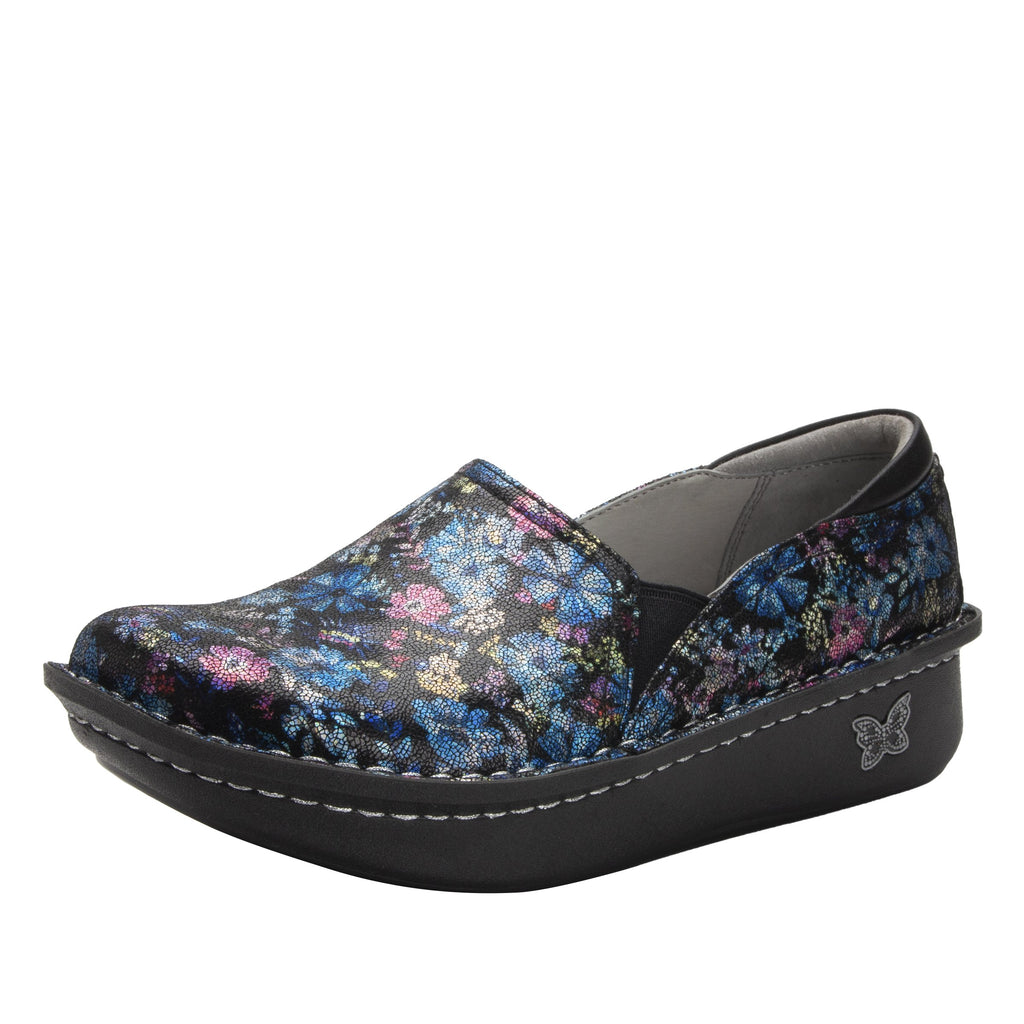 Debra Wildin slip-on shoe with Classic Rocker Bottom - DEB-7711_S1