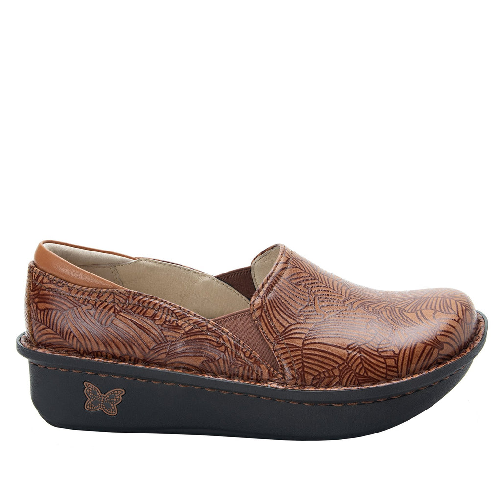 Debra Tobacco Leaf slip-on shoe with Classic Rocker Bottom - DEB-849_S2
