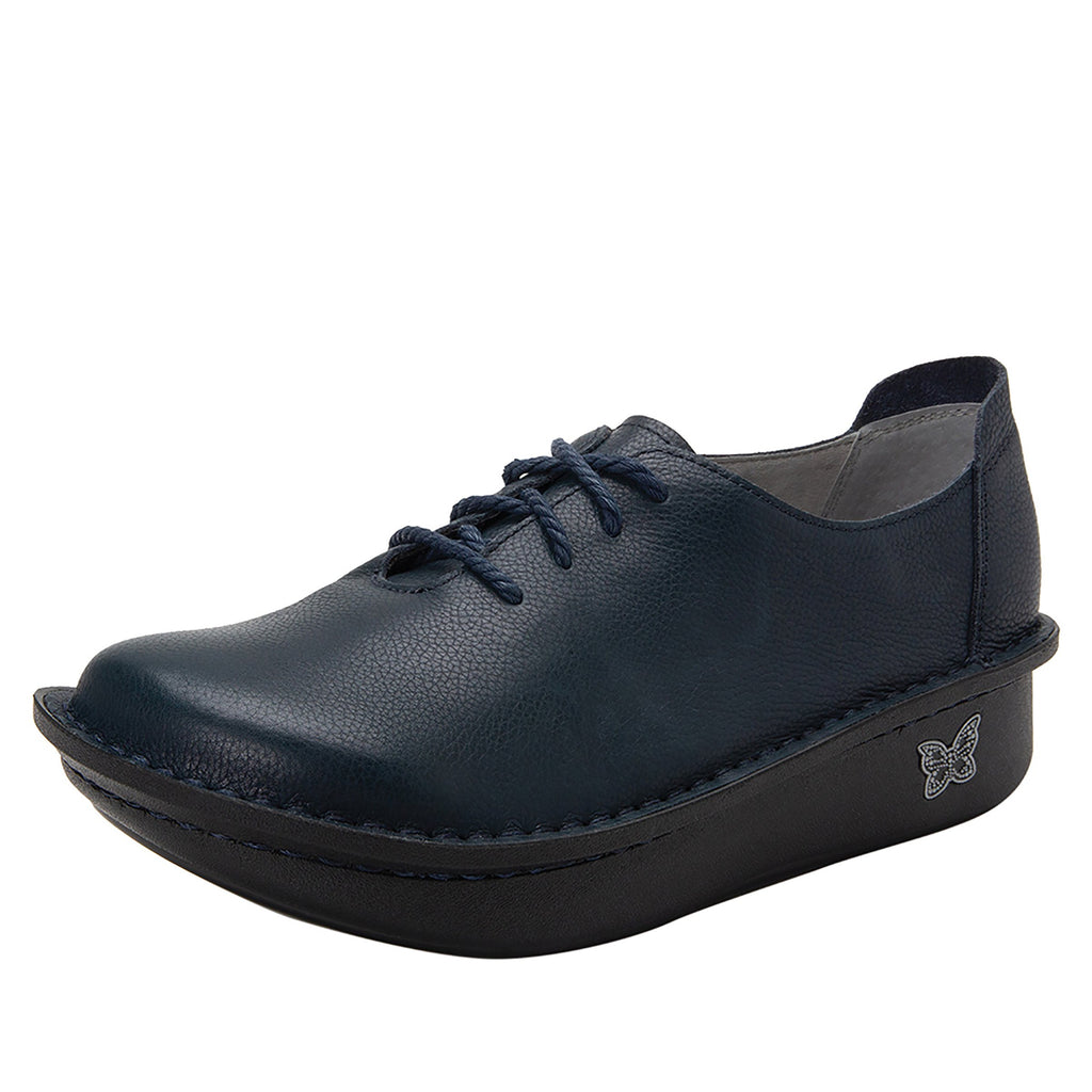 Dillyn Admiral lace up shoes on classic rocker outsole - DIL-187_S1
