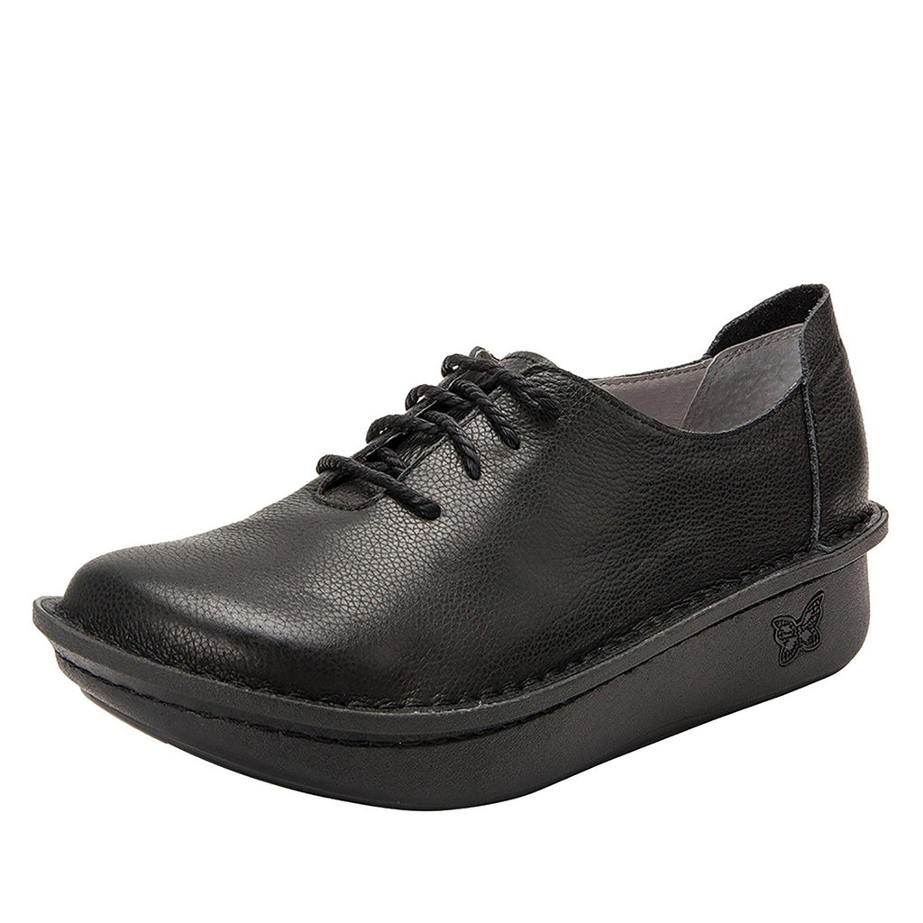 Dillyn Raven lace up shoes on classic rocker outsole - DIL-190_S1 (4167290191926)