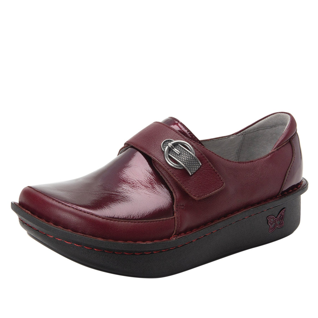 Dixi Syrah Dream Fit™ lined shoe with Classic Rocker Bottom - DIX-191_S1 (2301266362422)
