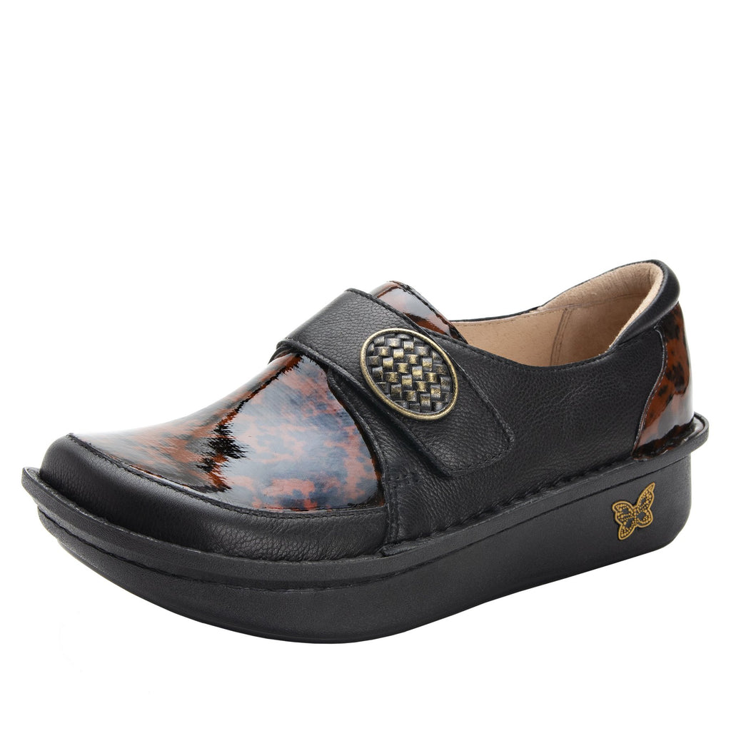 Dixi Tortoise Dream Fit™ lined shoe with Classic Rocker Bottom - DIX-407_S1