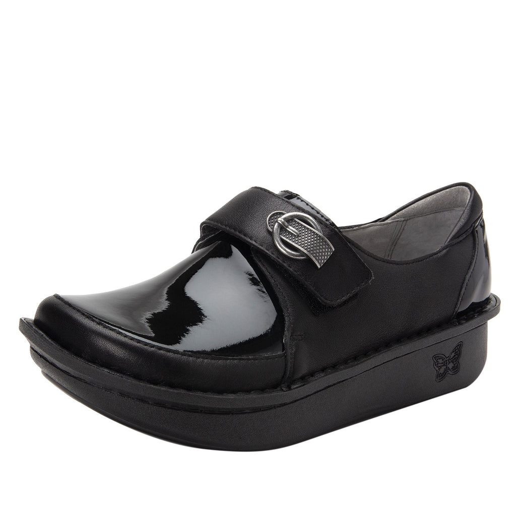 Dixi Black Dream Fit™ lined shoe with Classic Rocker Bottom - DIX-601_S1 (2301266427958)