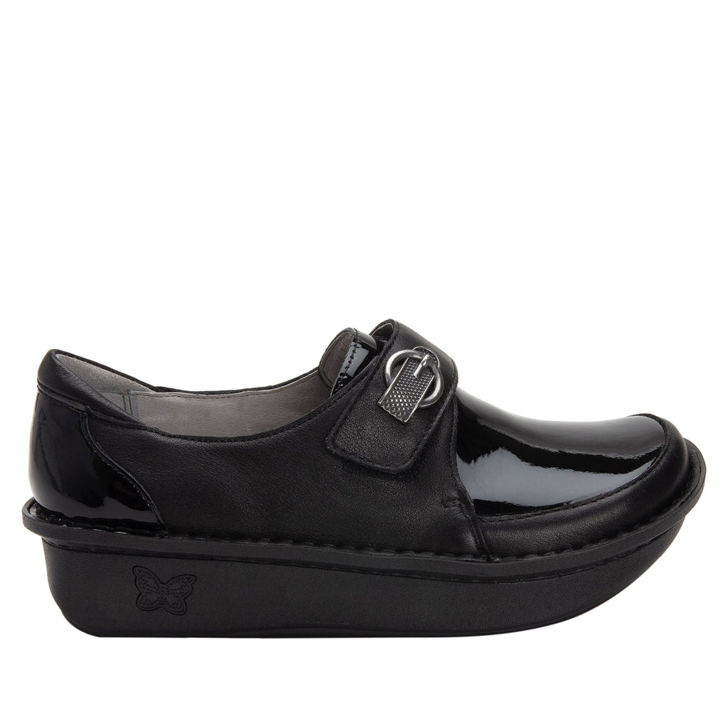 Dixi Black Dream Fit™ lined shoe with Classic Rocker Bottom - DIX-601_S2 (2301266427958)