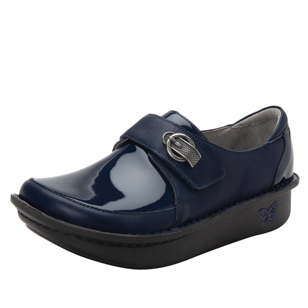 Dixi Navy Dream Fit™ lined shoe with Classic Rocker Bottom - DIX-622_S1 (2301266493494)
