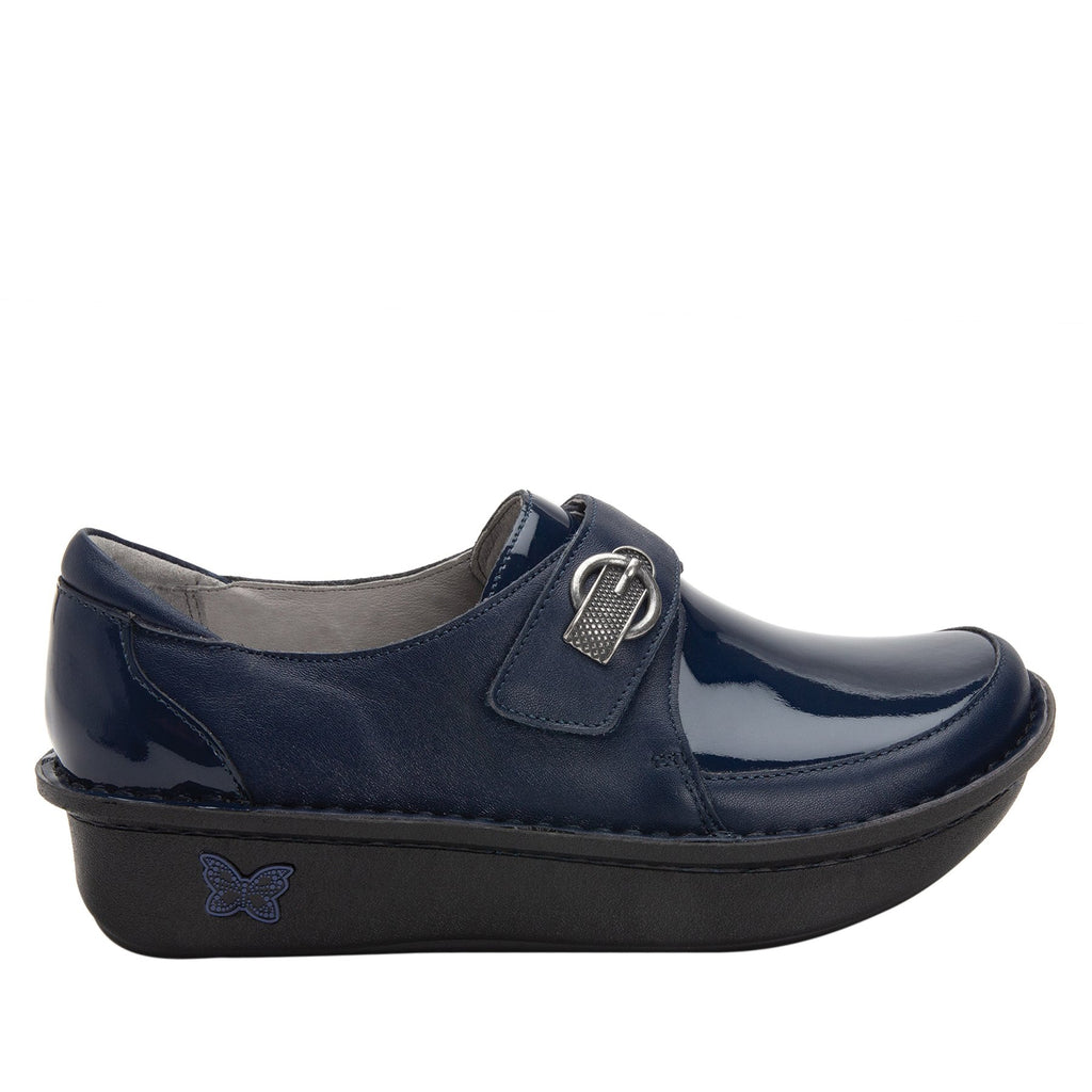 Dixi Navy Dream Fit™ lined shoe with Classic Rocker Bottom - DIX-622_S2 (2301266493494)