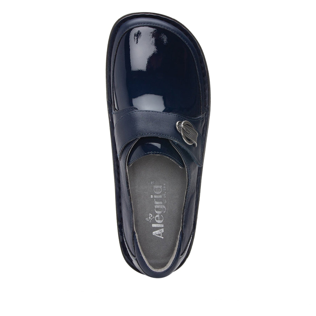 Dixi Navy Dream Fit™ lined shoe with Classic Rocker Bottom - DIX-622_S4 (2301266493494)