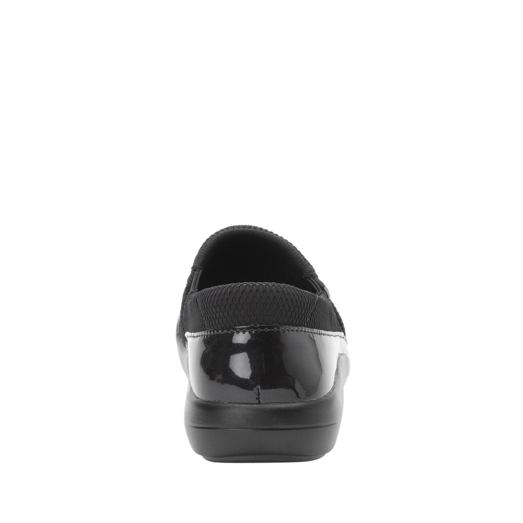 Duette Black Patent sport rocker professional shoe with dual density polyurethane outsole. DUE-101_S3