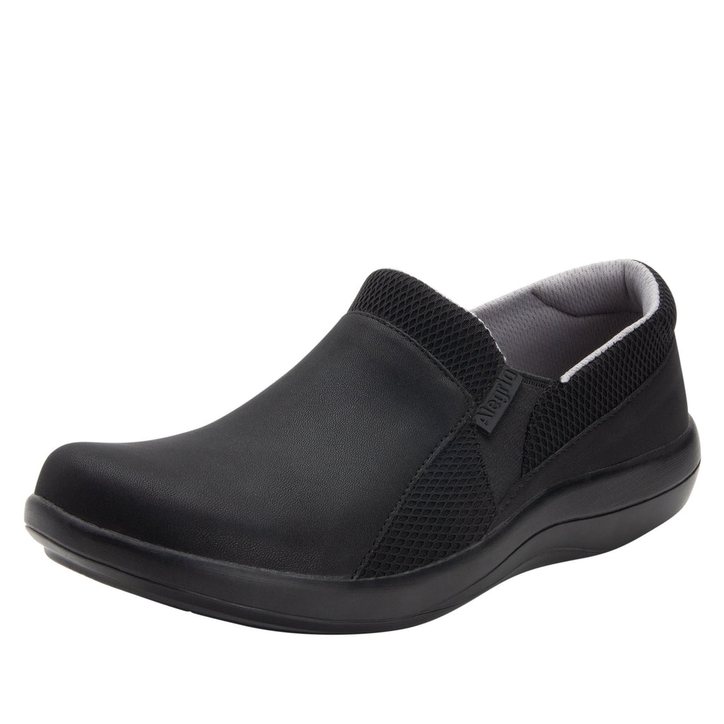 Duette Black sport rocker professional shoe with dual density polyurethane outsole. DUE-601_S1