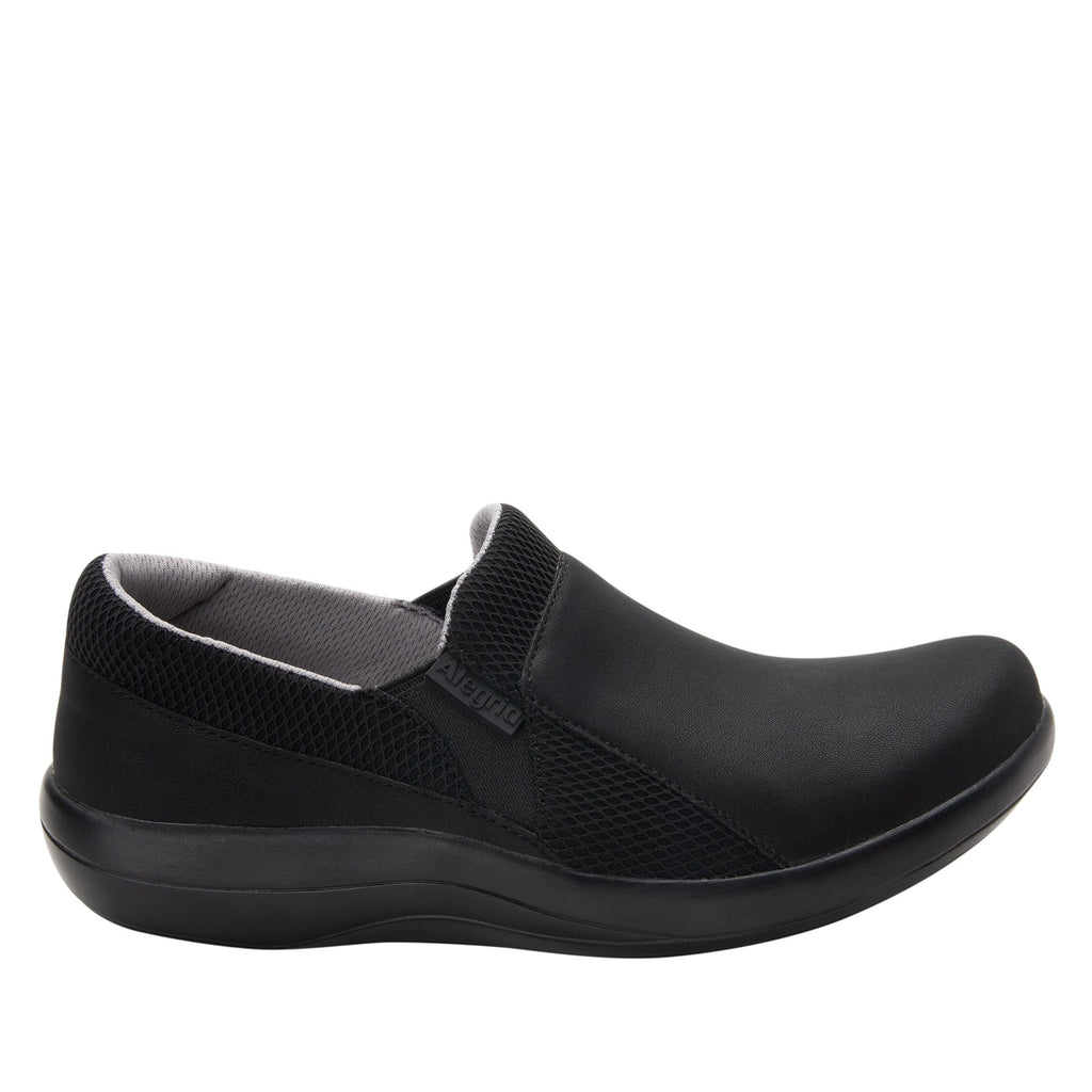 Duette Black sport rocker professional shoe with dual density polyurethane outsole. DUE-601_S2