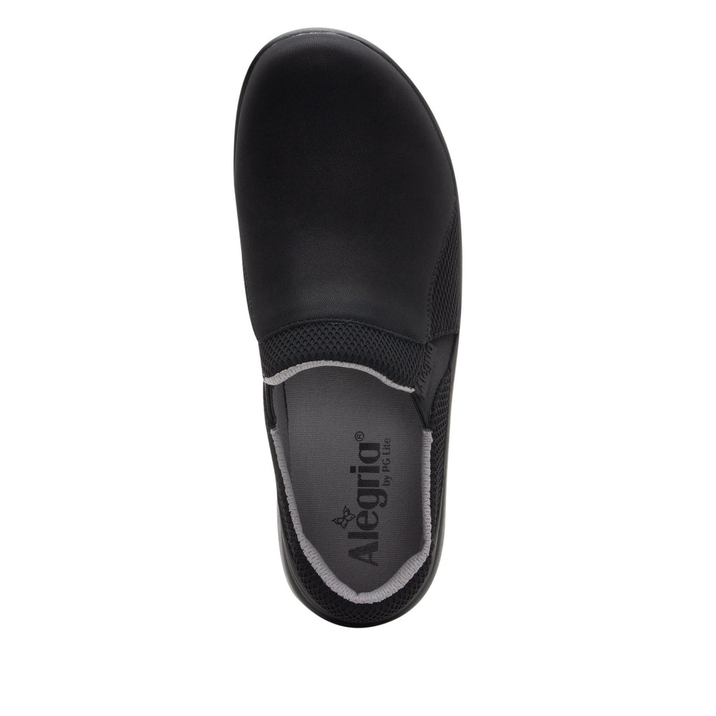 Duette Black sport rocker professional shoe with dual density polyurethane outsole. DUE-601_S4