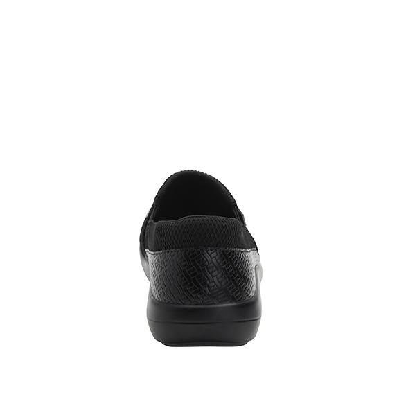 Duette Black Woven sport rocker professional shoe with dual density polyurethane outsole. DUE-7883_S3