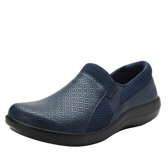 Duette Blue Woven sport rocker professional shoe with dual density polyurethane outsole. DUE-7885_S1