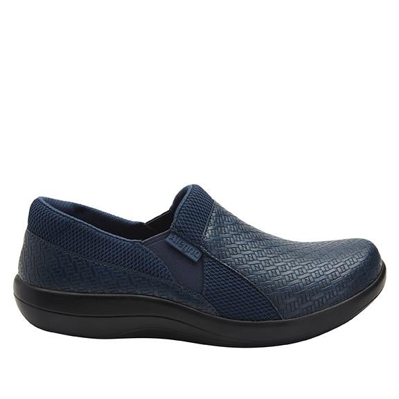Duette Blue Woven sport rocker professional shoe with dual density polyurethane outsole. DUE-7885_S2