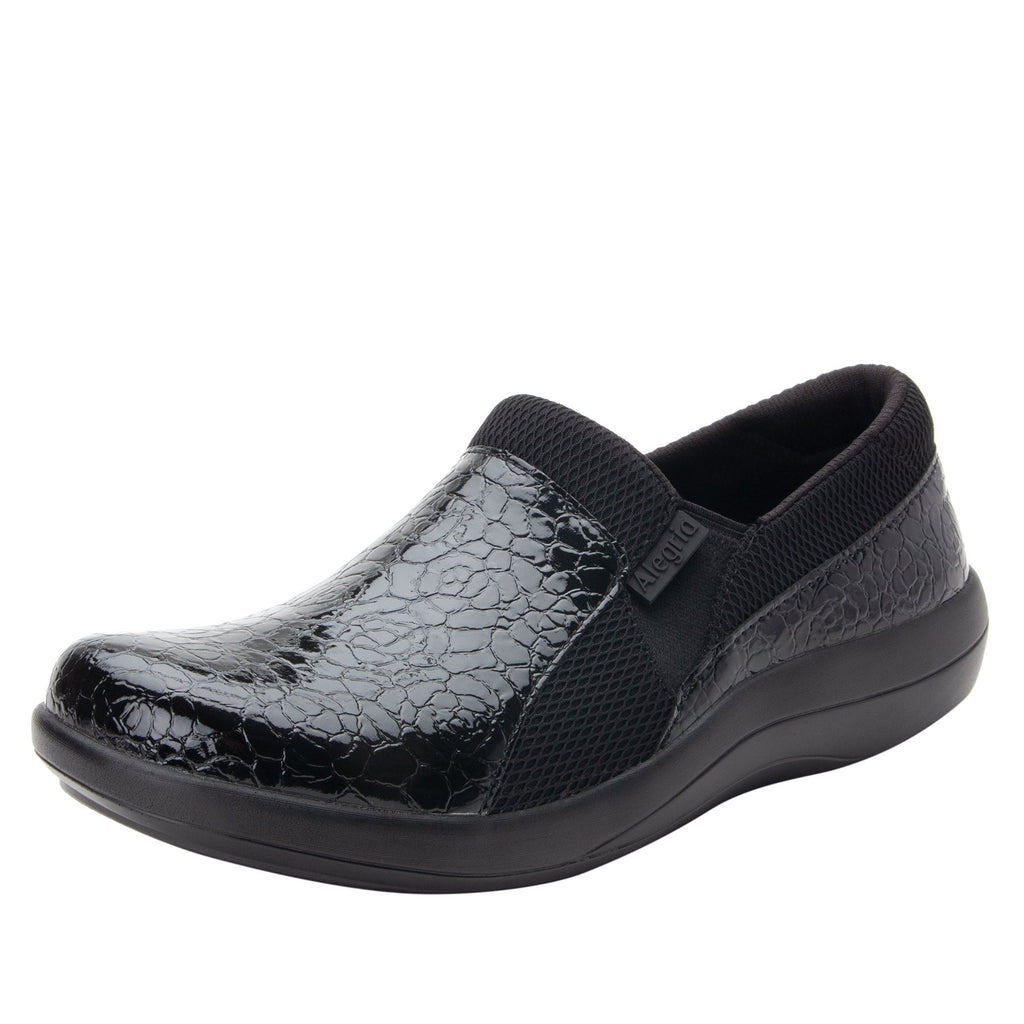 Duette Flourish Black sport rocker professional shoe with dual density polyurethane outsole. DUE-955_S1 (2298577322038)
