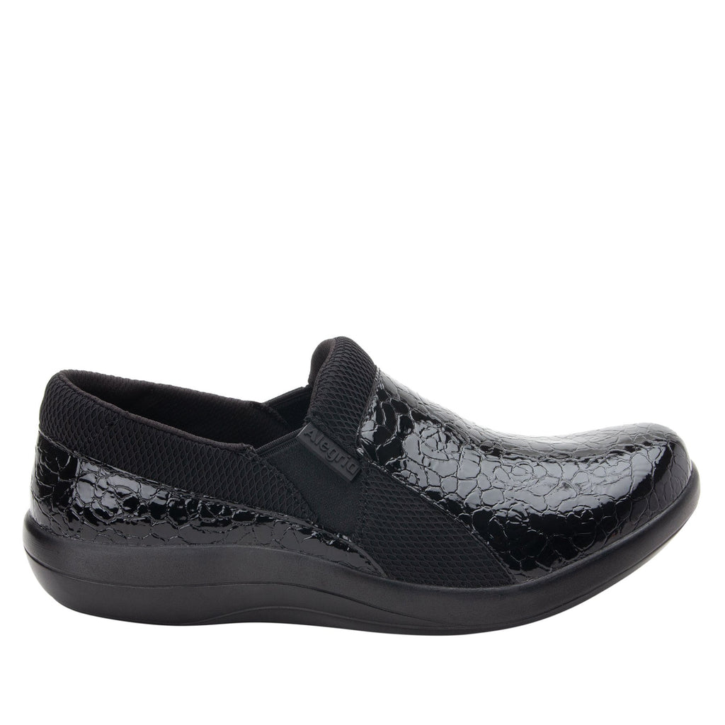 Duette Flourish Black sport rocker professional shoe with dual density polyurethane outsole. DUE-955_S2 (2298577322038)