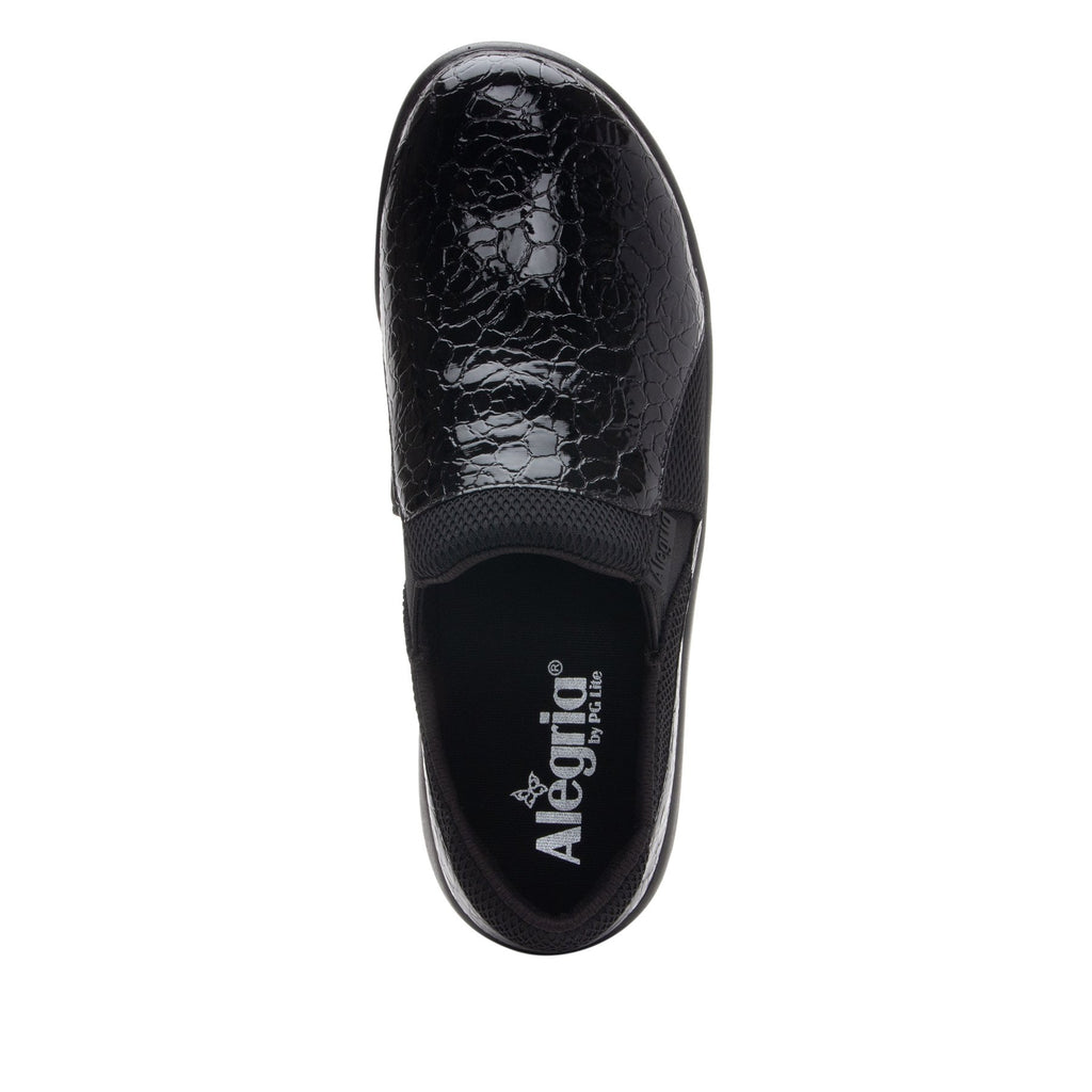 Duette Flourish Black sport rocker professional shoe with dual density polyurethane outsole. DUE-955_S4 (2298577322038)