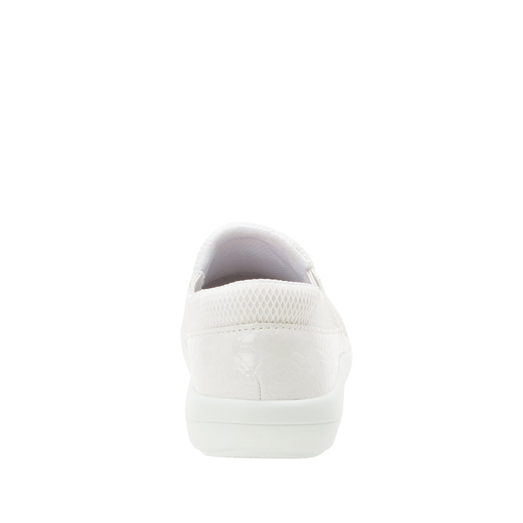Duette Flourish White sport rocker professional shoe with dual density polyurethane outsole. DUE-956_S3 (2298577387574)