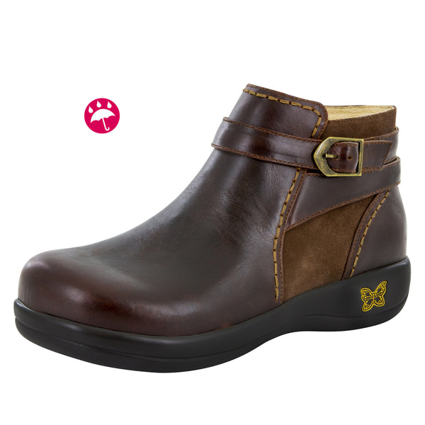 Dylan Hickory Water-Resistant Boot - Alegria Shoes - 1
