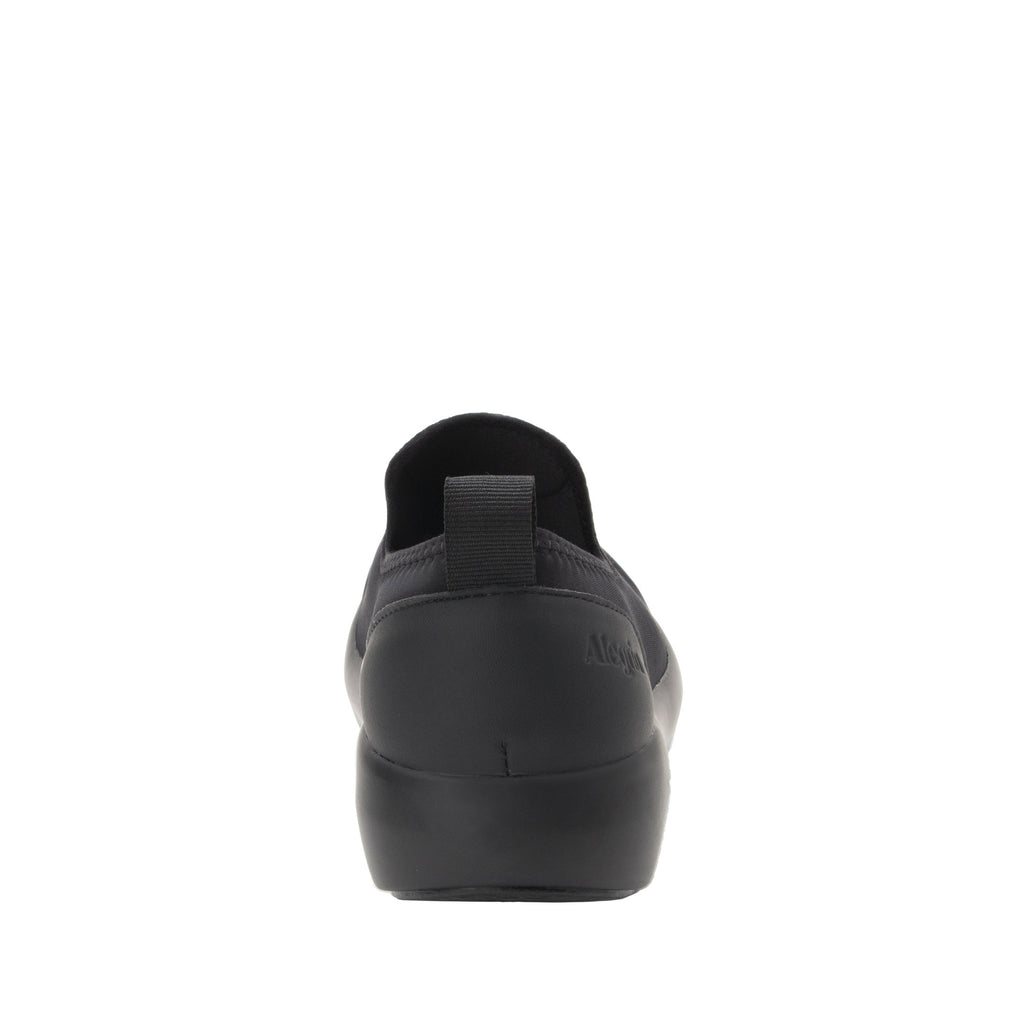 Eden Black Dream Fit™ upper slip on style shoe with non-flexing rocker outsole - EDE-101_S3