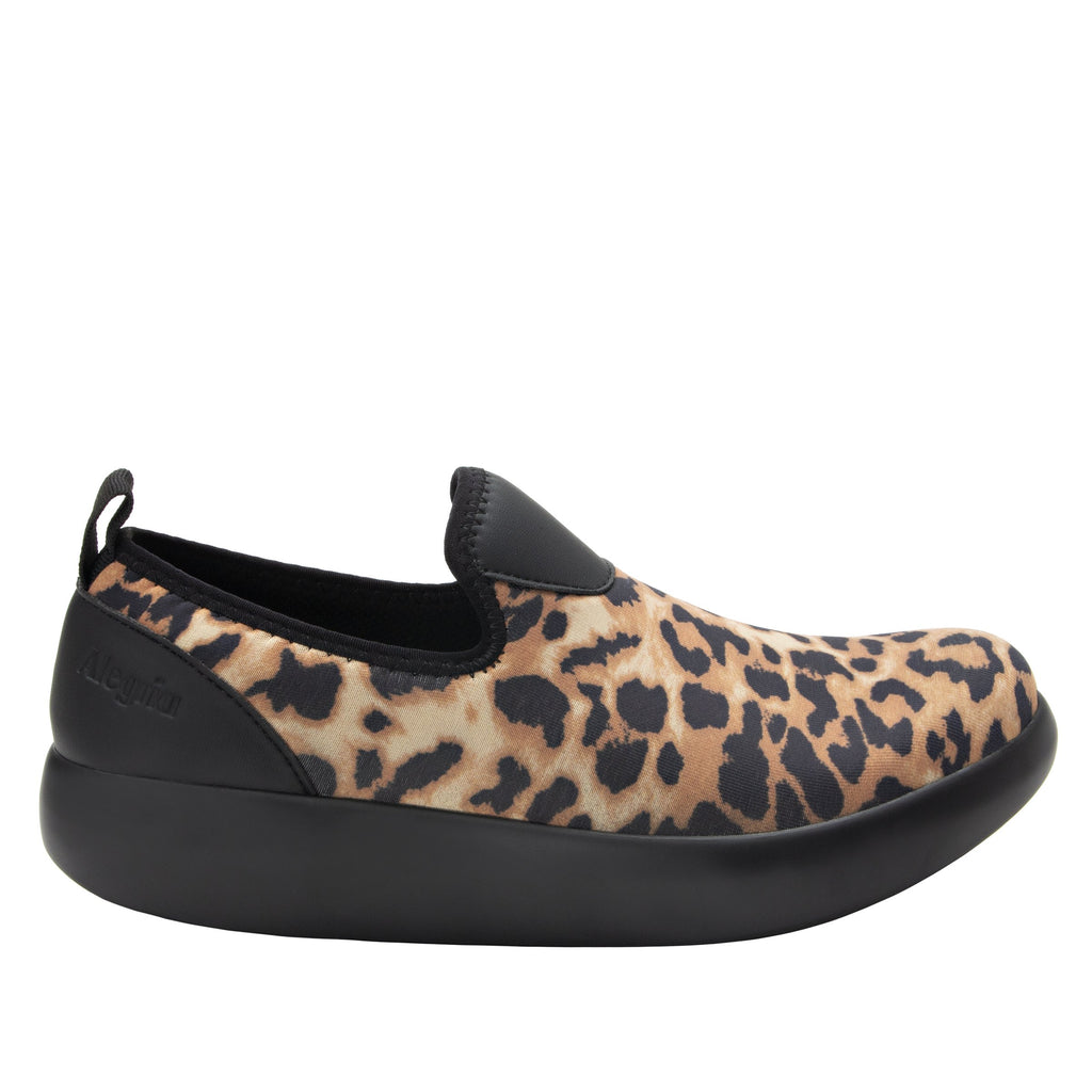 Eden Leopard Dream Fit™ upper slip on style shoe with non-flexing rocker outsole - EDE-402_S2