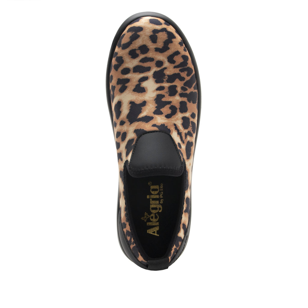 Eden Leopard Dream Fit™ upper slip on style shoe with non-flexing rocker outsole - EDE-402_S4