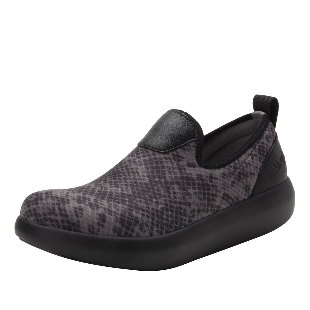 Eden Snake Dream Fit™ upper slip on style shoe with non-flexing rocker outsole - EDE-7726_S1