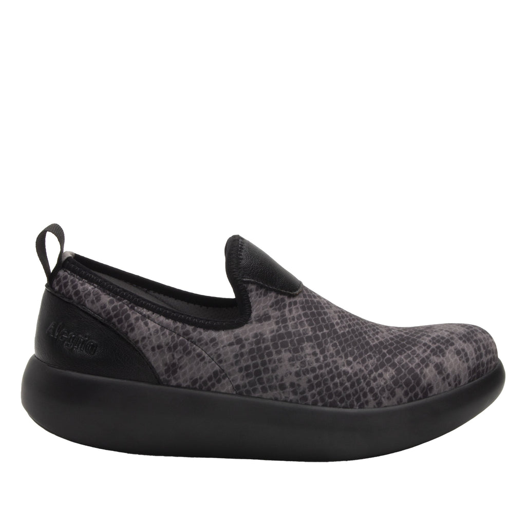 Eden Snake Dream Fit™ upper slip on style shoe with non-flexing rocker outsole - EDE-7726_S2