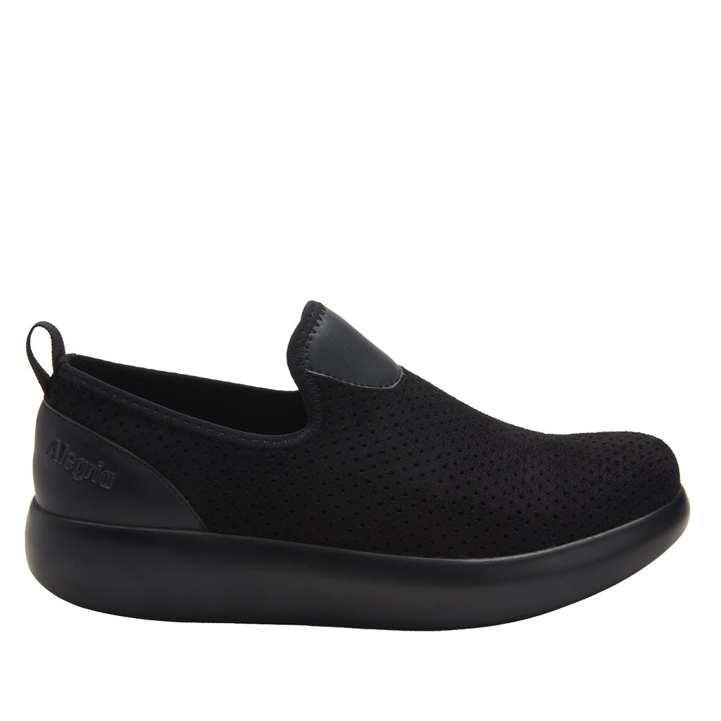 Eden Black Flow Dream Fit™ upper slip on style shoe with non-flexing rocker outsole - EDE-7860_S2