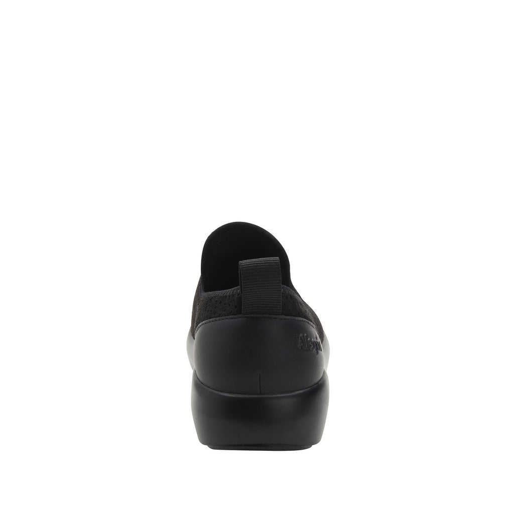 Eden Black Flow Dream Fit™ upper slip on style shoe with non-flexing rocker outsole - EDE-7860_S3