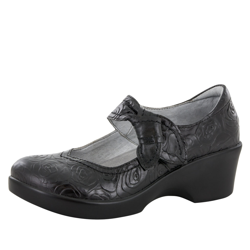 Ella Night Rosette Shoe - Alegria Shoes - 1