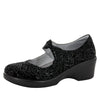 Ella Black Sprigs Shoe - Alegria Shoes - 1