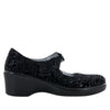 Ella Black Sprigs Shoe - Alegria Shoes - 2