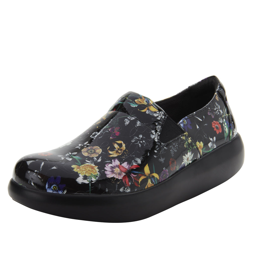 Elly Magical vegan leather upper slip on style shoe with non-flexing rocker outsole - ELL-7872_S1