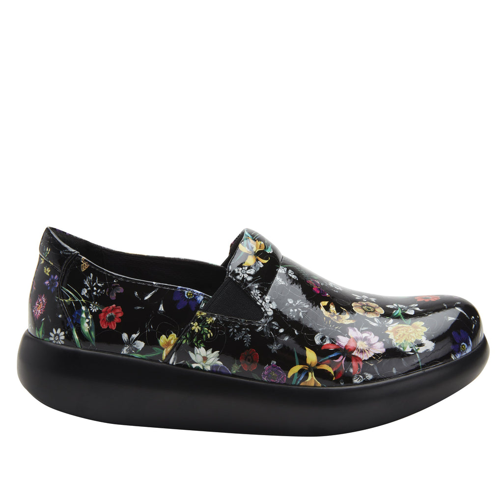 Elly Magical vegan leather upper slip on style shoe with non-flexing rocker outsole - ELL-7872_S2