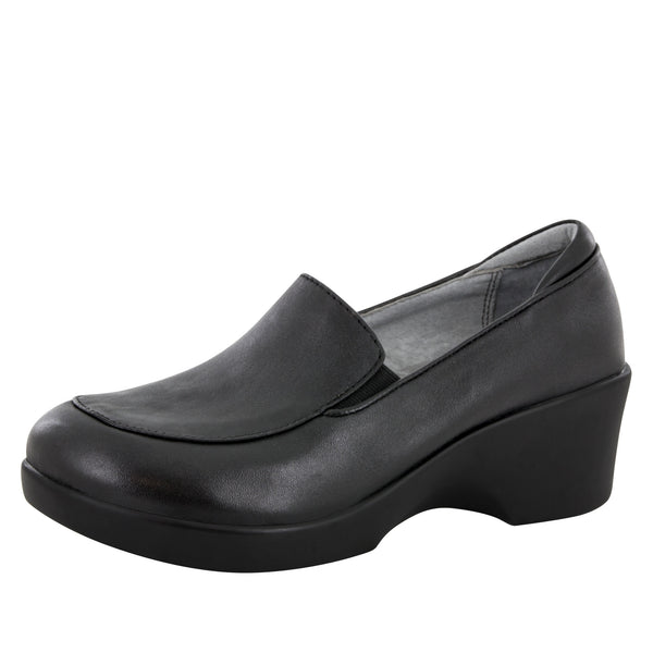 Emma Black Nappa Shoe - Alegria Shoes