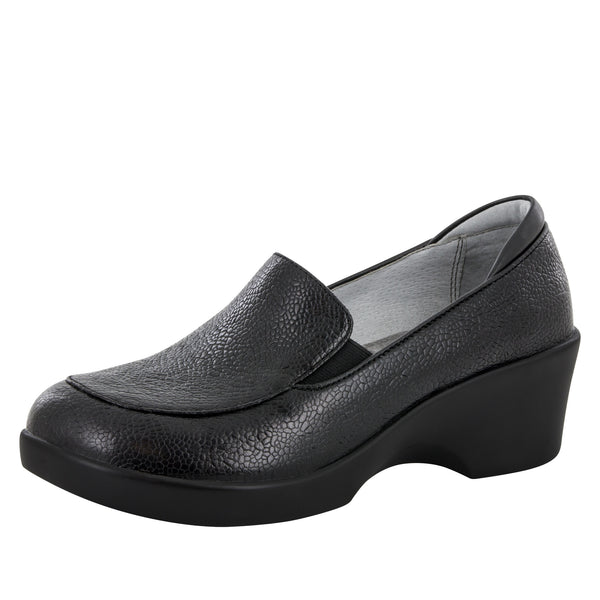 Emma Masonry Black Shoe - Alegria Shoes - 1