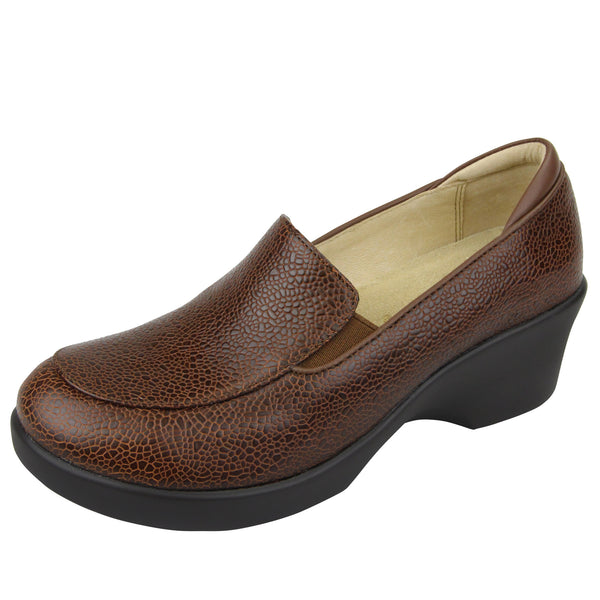 Emma Masonry Choco Shoe - Alegria Shoes - 1
