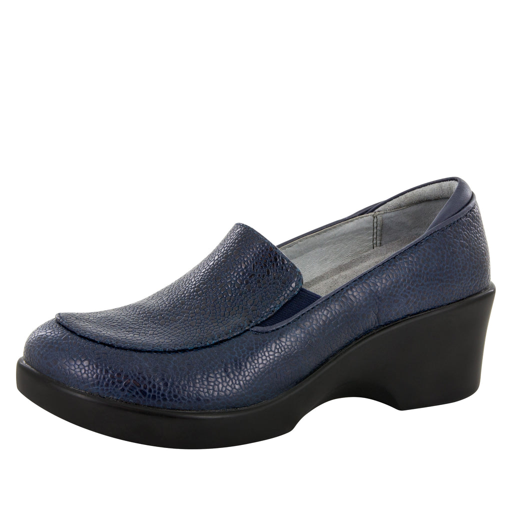 Emma Masonry Blue Shoe - Alegria Shoes - 1
