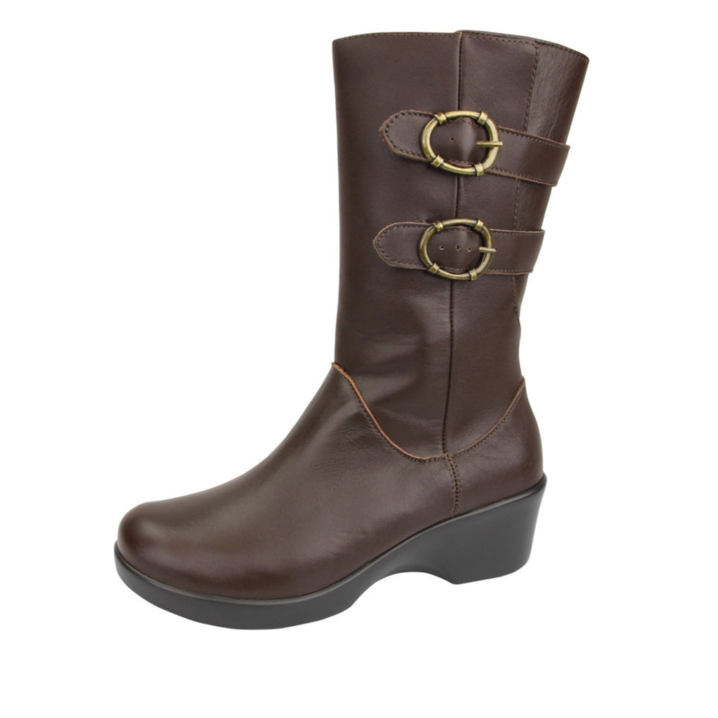 Erica Cacao Boot - Alegria Shoes