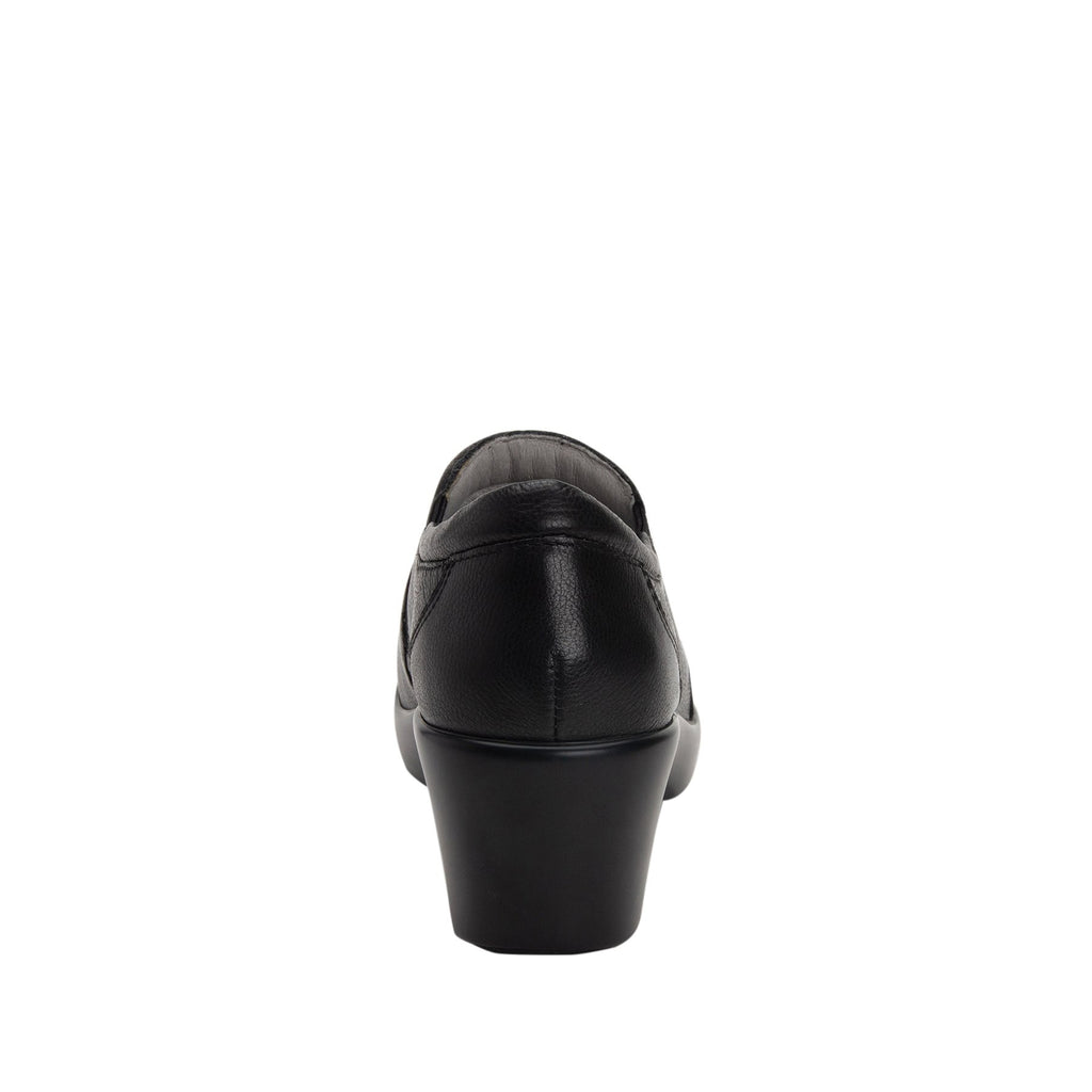 Eryn slip on career fashion wedge shoe in black Upgrade leather - ERY-161_S3