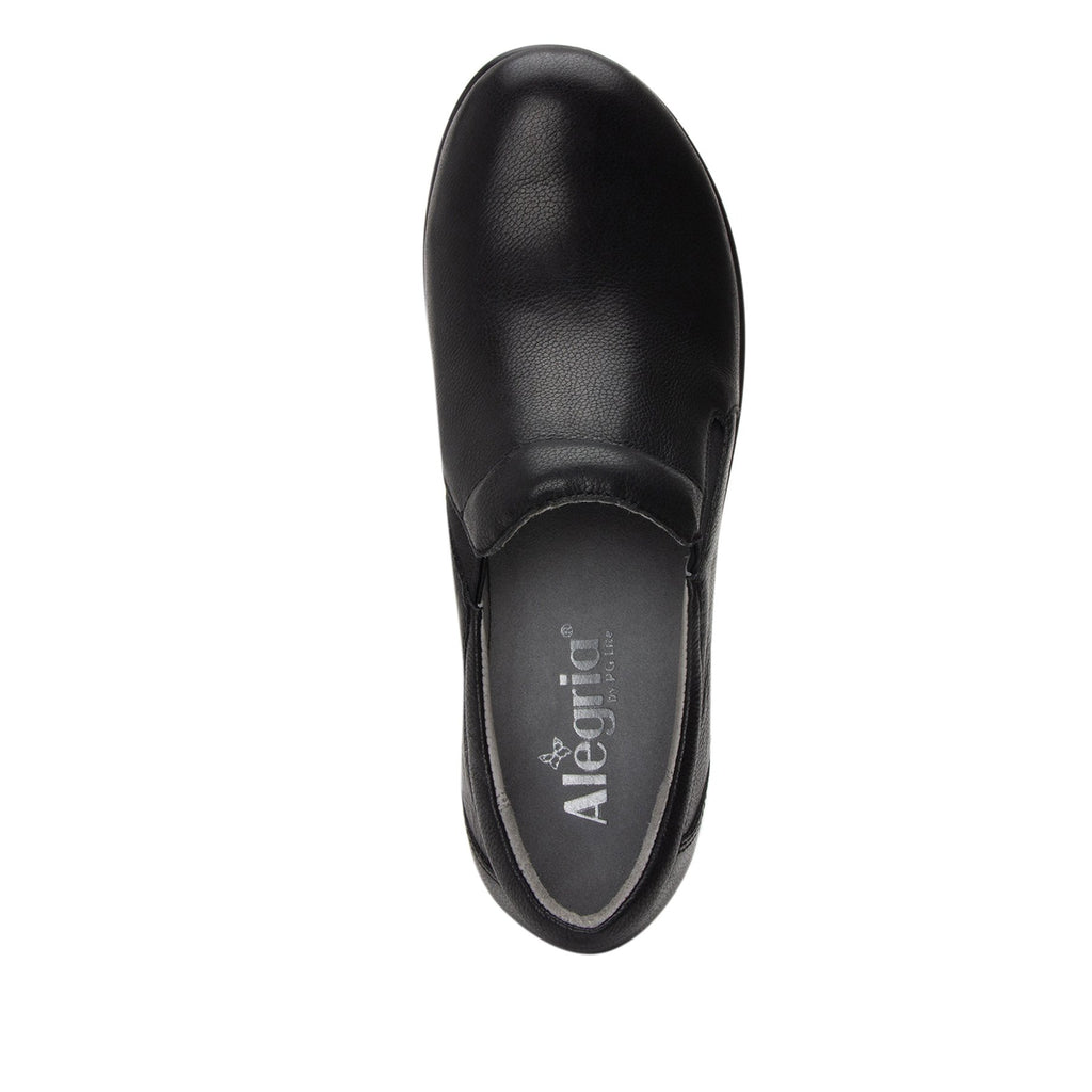 Eryn slip on career fashion wedge shoe in black Upgrade leather - ERY-161_S4