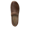 Eryn slip on career fashion wedge shoe in timeless Breezeway Tawny- ERY-272_S4