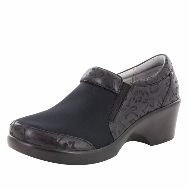 Eryn Morning Glory Black Shoe
