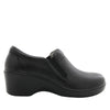 Eryn slip on career fashion wedge shoe in classic Black Nappa - ERY-601_S2