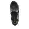 Eryn slip on career fashion wedge shoe in classic Black Nappa - ERY-601_S4