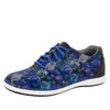 Essence Winter Garden Navy Shoe - Alegria Shoes - 1