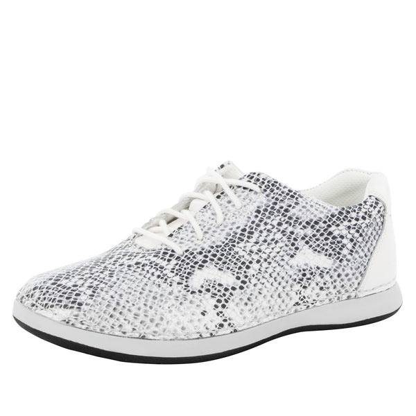 Essence Posh Silver Shoe - Alegria Shoes - 1