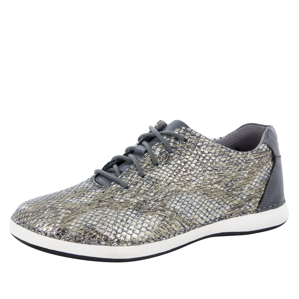Essence Posh Pewter Shoe - Alegria Shoes - 1