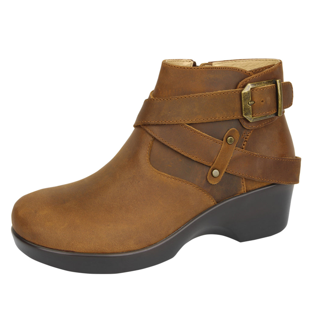 Eva Tawny Boot - Alegria Shoes